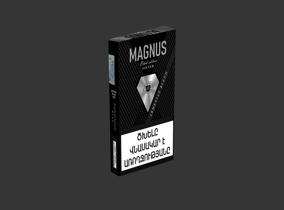 Magnus Black Edition SS Silver